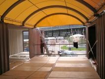 Pavillon Containerarchitektur Berlin