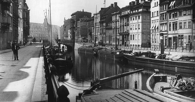Finowmaßkahn historisch