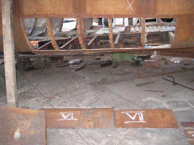Engelbrecht Expresskreuzer Rückbau