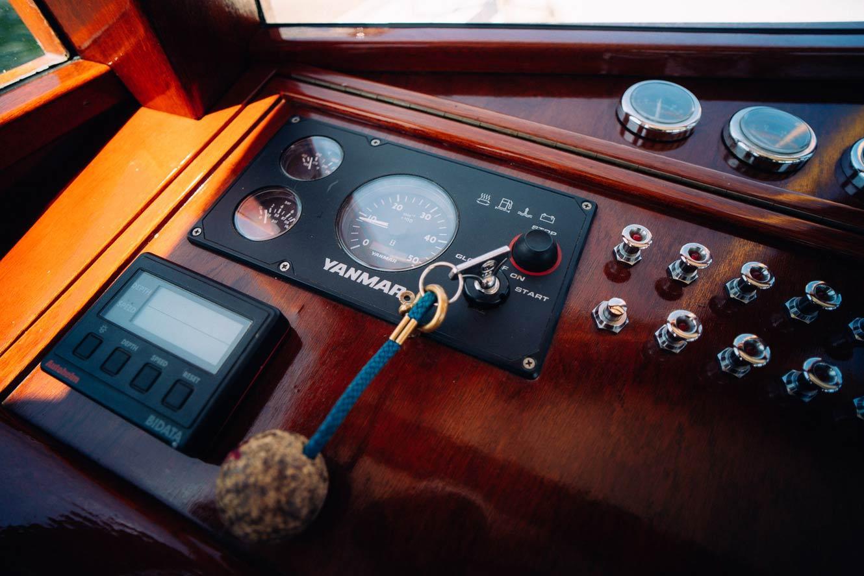 Kanalboot  Elleken-steuer