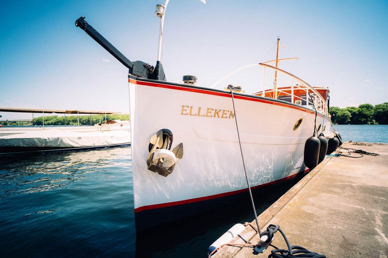 Kanalboot  Elleken-boot-front
