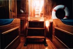 Kanalboot Elleken-kajuette