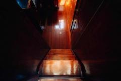 Kanalboot Elleken-treppe