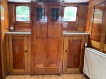 bootsmarkt-holländischer Frachter Innen
