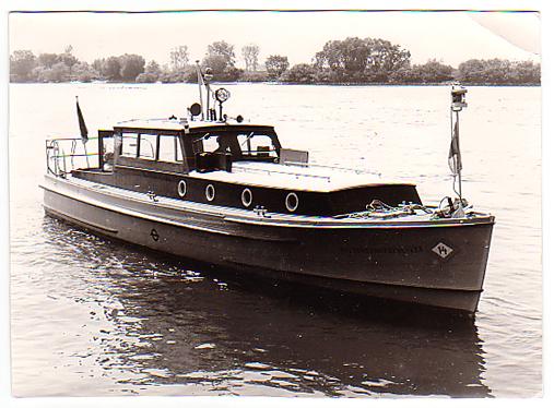 altes Polizeiboot Penelope