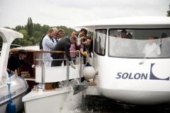 Taufe Solarschiff SunCat 58
