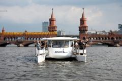 Oberbaumbrücke solarschiff Solon