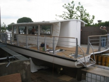 Solarschiff Teakdeck