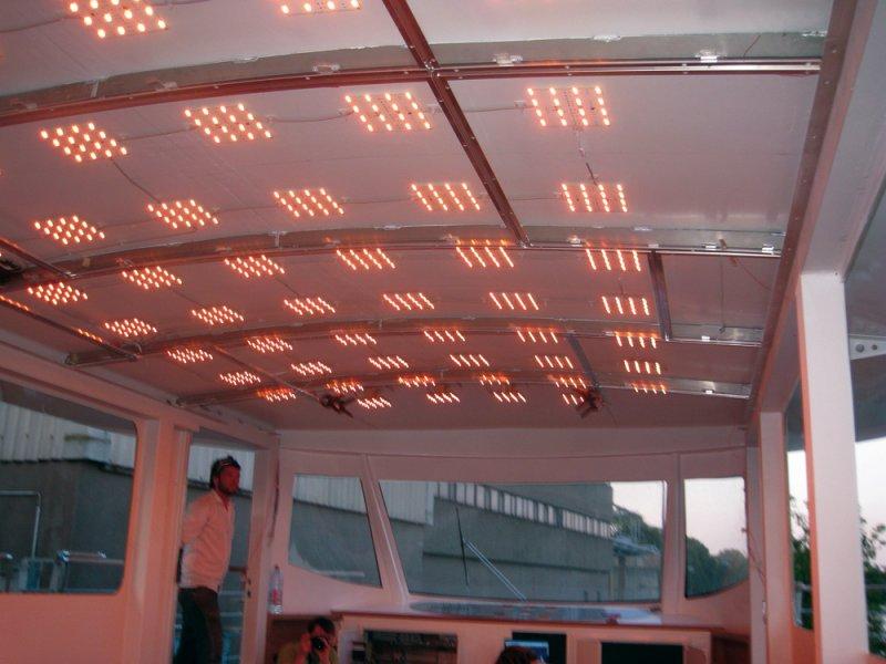 Leuchtdioden Solarschiff Solon