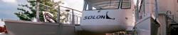Solarschiff Innenausbau