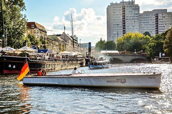 Original Polizeiboot Achilles WS 41