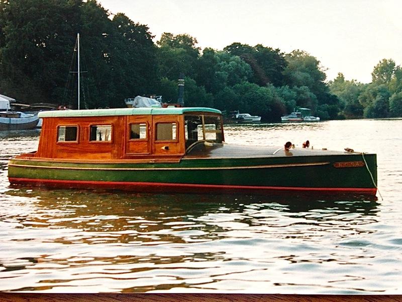 Engelbrecht-Salonboot Rosa