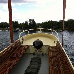 Holländisches Plattbodenschiff