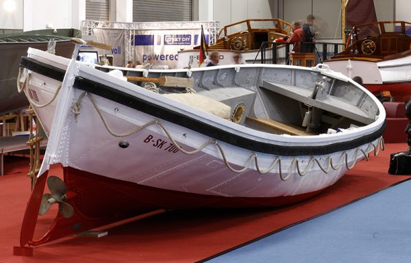 Klassisches Rettungsboot